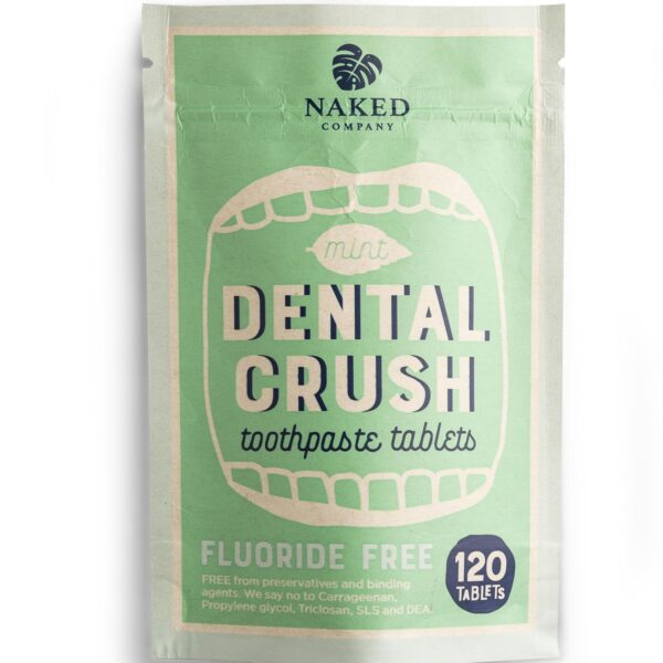 Naked Company Dental Crush Toothpaste Tablets