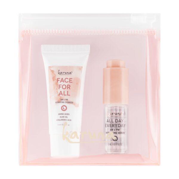 Cleanser and Serum - Karuna Skin - Facial Care - Clean Beauty Binge