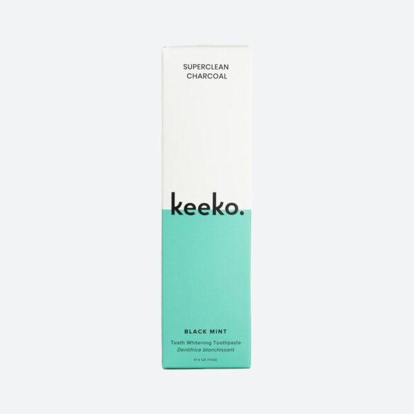 Keeko Oil Charcoal Toothpaste