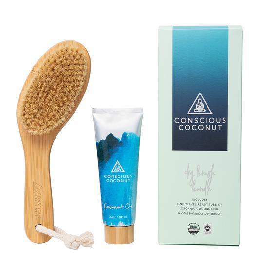 Conscious Coconut - Dry Brush Bundle - Body Care - Beauty Binge