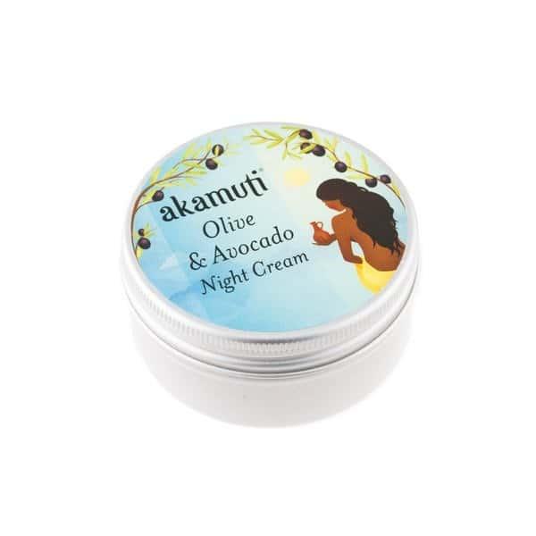 Akamuti - Olive & Avocado Night Cream - Organic - Beauty Binge