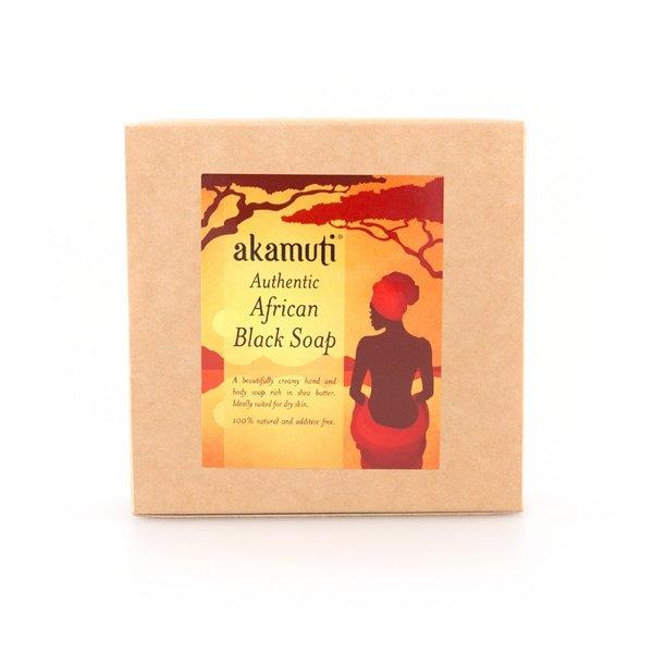 Akamuti - African Black Soap Bar - Organic soap - Beauty Binge