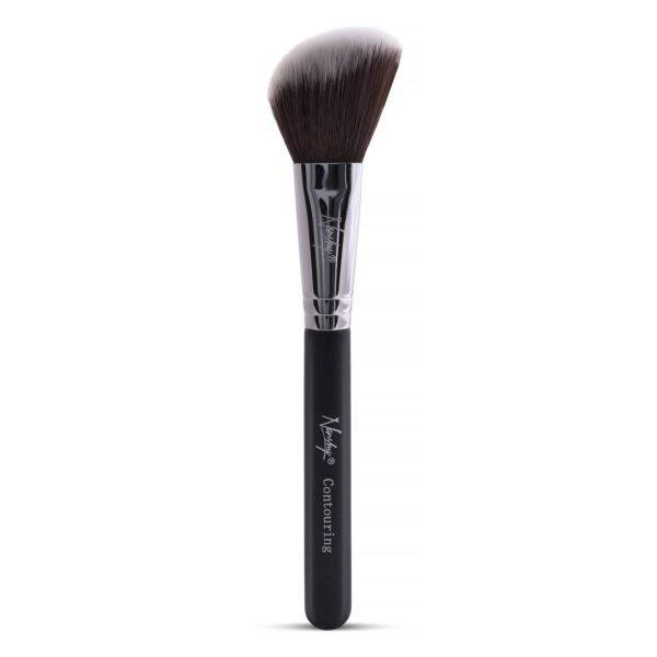 Nanshy - Vegan Contour Brush - Onyx Black - Beauty Binge